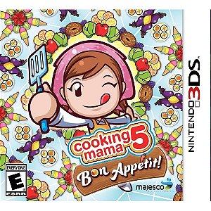 3DS - Cooking Mama 5 Bon Appétit!
