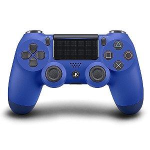 PS4 - Controle Sem Fio Dualshock 4 - Azul