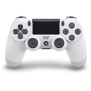 PS4 - Controle Sem Fio Dualshock 4 - Branco Glacial