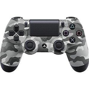 PS4 - Controle Sem Fio Dualshock 4 - Camuflado Cinza