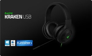 PS4 - Headset Gamer Razer Kraken USB - PS4/PC