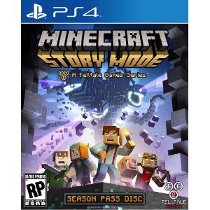 PS4 - Minecraft Story Mode
