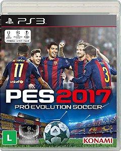 PS3 - PES 2017 - Pro Evolution Soccer