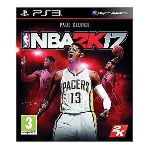 PS3 - NBA 2K17