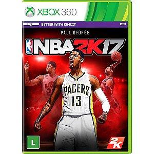 Xbox360 - NBA 2K17