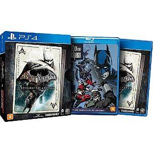PS4 - Batman - Return to Arkham - Edição Exclusiva de Lançamento