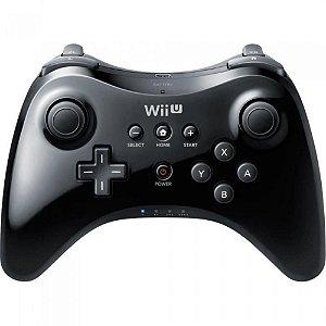 Wii U - Pro Controller Preto