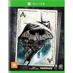 XboxOne - Batman Return to Arkham - Edição Exclusiva de Lançamento
