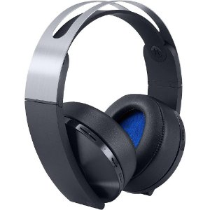 PS4 - Headset Sony Platinum 7.1 Wireless (Headset Platinum Sem Fio PS4 - SONY)