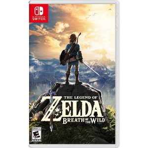 Switch - The Legend Of Zelda Breath Of The Wild