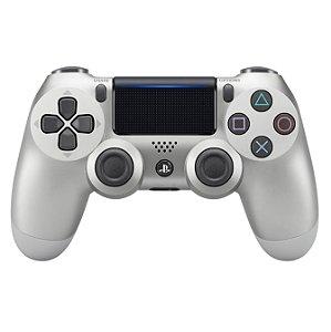 PS4 - Controle Sem Fio Dualshock 4 - Prata