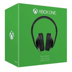 XboxOne - Headset Stereo Microsoft c/ Adaptador