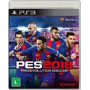 PS3 - PES 2018
