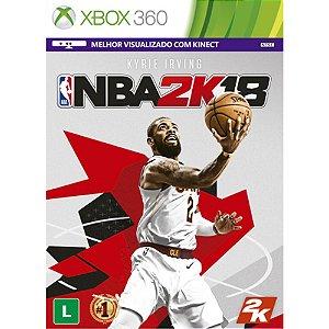 Xbox360 - NBA 2K18
