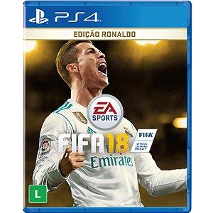 PS4 - FIFA 18 Edição Ronaldo