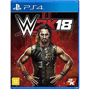 PS4 - WWE 2K18 (Pré-Venda)