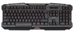 Teclado TRUST GXT 280 Iluminado por Leds Gaming Keyboard