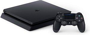 PS4 - Console Playstation 4 Slim Preto 1T