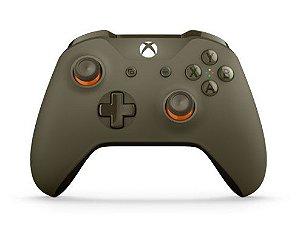 XboxOne - Controle Xbox One S Verde/Laranja