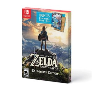 Switch - The Legend Of Zelda: Breath Of The Wild - Explorer's Edition