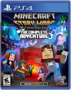 PS4 - Minecraft Story Mode: The Complete Adventure