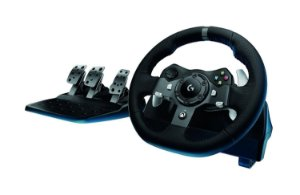 XboxOne - Volante Logitech G920 Driving Force Race Wheel - XboxOne / PC