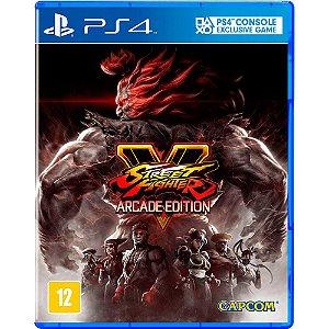 PS4 - Street Fighter V - Arcade Edition