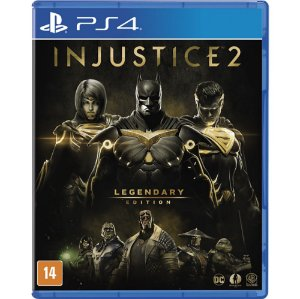 PS4 - Injustice 2 - Legendary Edition (Pré-venda)