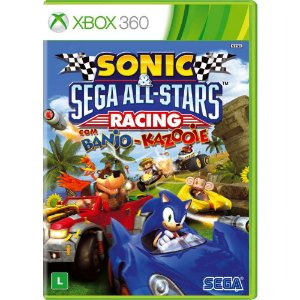 Xbox360 - Sonic & Sega All-Stars Racing with Banjo-Kazooie