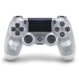 PS4 - Controle Sem Fio Dualshock 4 - Cristal