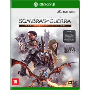 XboxOne - Sombras da Guerra - Definitive Edition