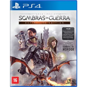 PS4 - Sombras da Guerra - Definitive Edition