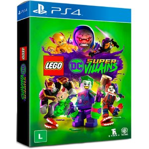 PS4 - Lego Dc Super Villains - Edição Especial