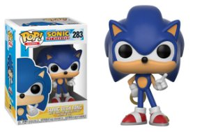Funko Pop! Games: Sonic The Hedgehog - Sonic with Ring