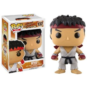 Funko Pop! Games: Street Fighter - Ryu