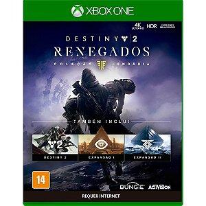 XboxOne - Destiny 2 Renegados - Coleção Lendária
