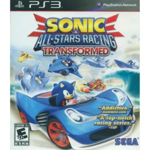 PS3 - Sonic & All Stars Racing Transformed