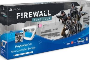 PS4 - Playstation VR Aim Controller Bundle + Jogo Firewall: Zero Hour