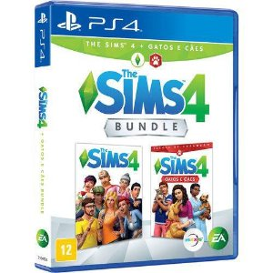 PS4 - The Sims 4 Cães e Gatos - Bundle