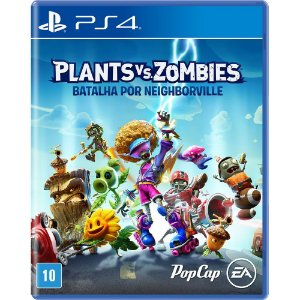 PS4 - Game Plants Vs Zombies: Batalha por Neighborville