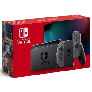 Switch - Console New Nintendo Switch Cinza