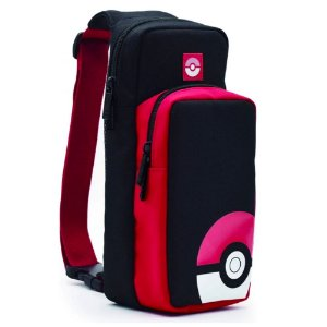 Switch - Case de ombro Tranier Pack (Pokébola)