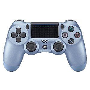 PS4 - Controle Sem Fio Dualshock 4 - Azul Titânio