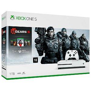 XboxOne - Console Xbox One S 1Tb Gears 5 Bundle - Oficial Microsoft Brasil