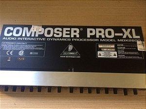 Compressor Behringer Mdx 2600 (Usado)