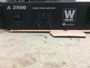 Amplificador Machine Wvox A 2500 - 600wrms