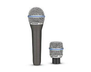 Microfone SAMSON CS Series c/ 2 Cápsulas