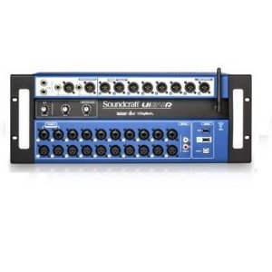 Mesa Digital SOUNDCRAFT Ui-24R Rack 24 canais