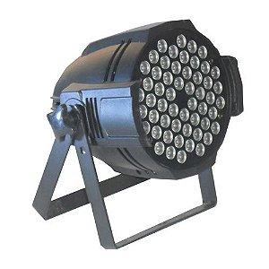 Canhão Refletor Par 54 Leds 54x3w RGBW Indoor