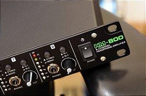 Amplificador de Fone de Ouvido Mackie 8 canais - HM800